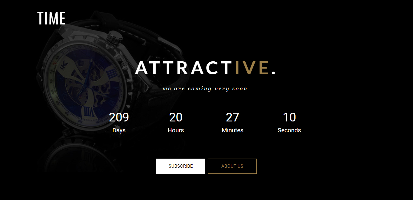 Attractive Landing Page Template
