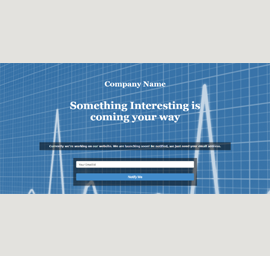 Coming Soon 2 Landing Page Template